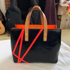 Louis Vuitton Monogram Vernis Reade PM Tote Bag